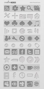 letter-pressed-icon-icne-lettre