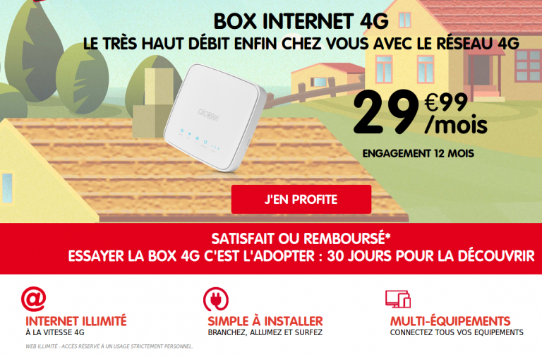 nrj mobile box 4g fixe